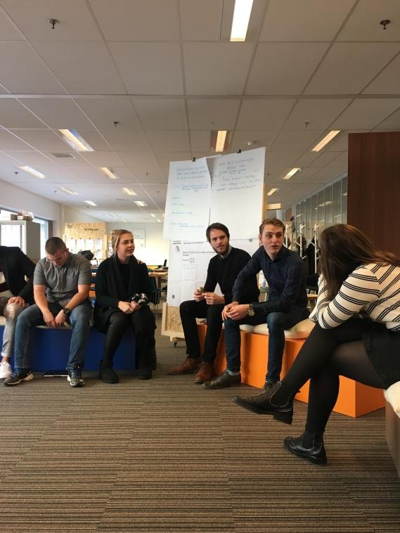 Haarlem Business Class students